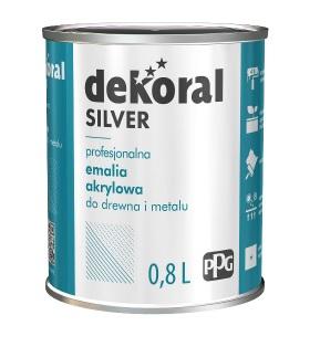 dekoral silver emalia